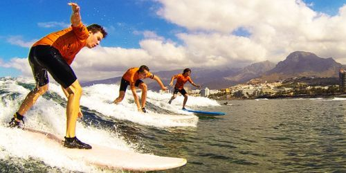 SURF SCHOOL A TENERIFE
